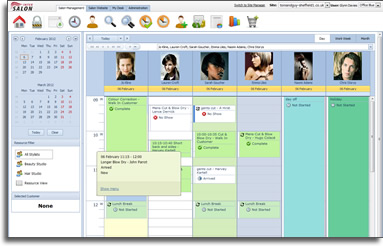 salon software appointment book and salon diary what is intersalon